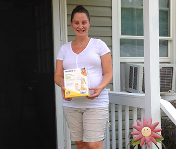 Taryn - winner of August 2014 mom giveaway.