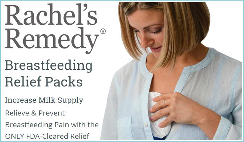 Rachel's Remedy Breastfeeding Relief Packs September 2016 Mom Giveaway
