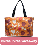 Register to win MomsPumHere Nurse Purse Giveaway