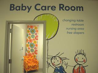 Photo of IKEA breastfeeding room in Conshohocken Pennsylvania.