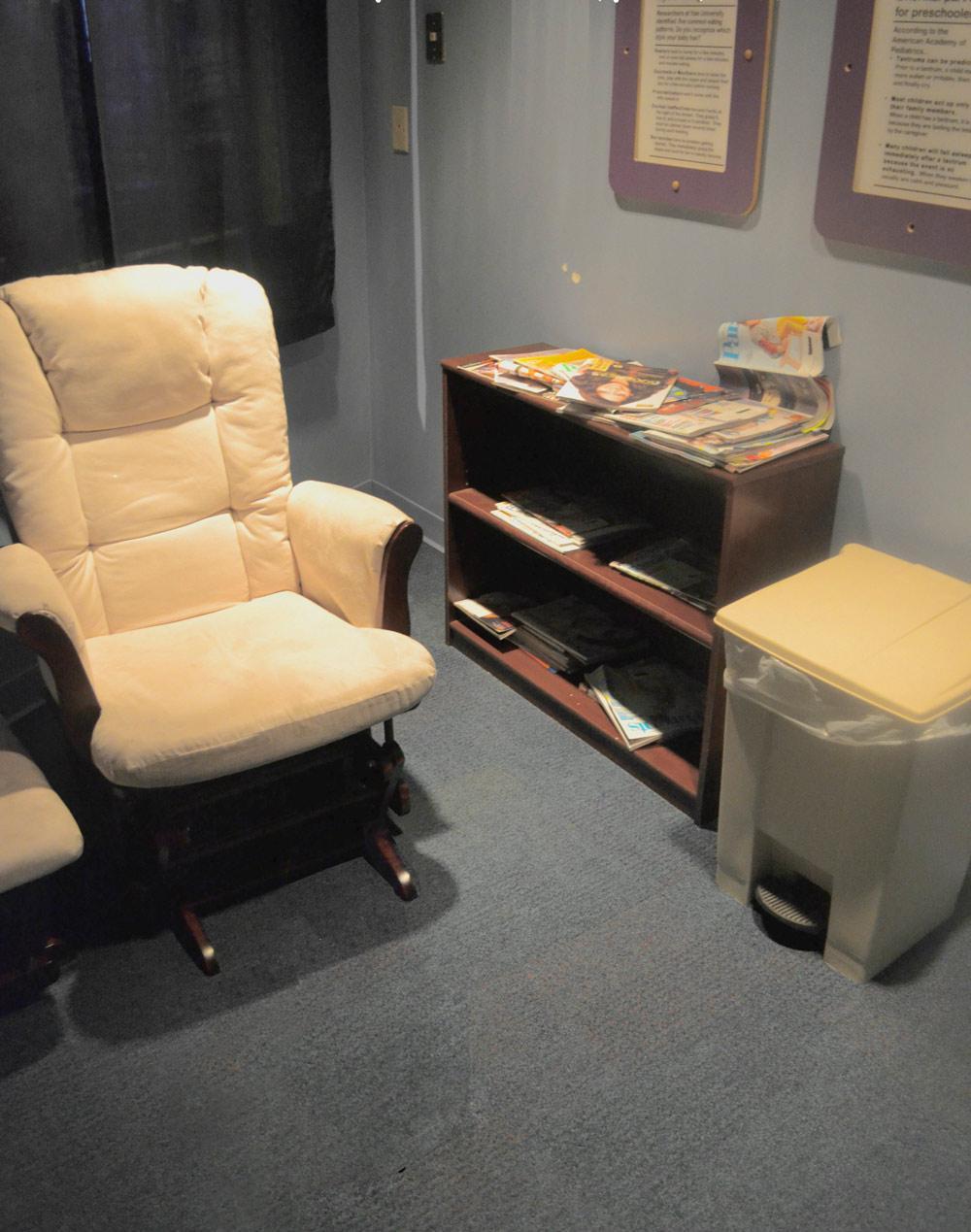 Imagination Station Toledo Ohio - nursing mothers room