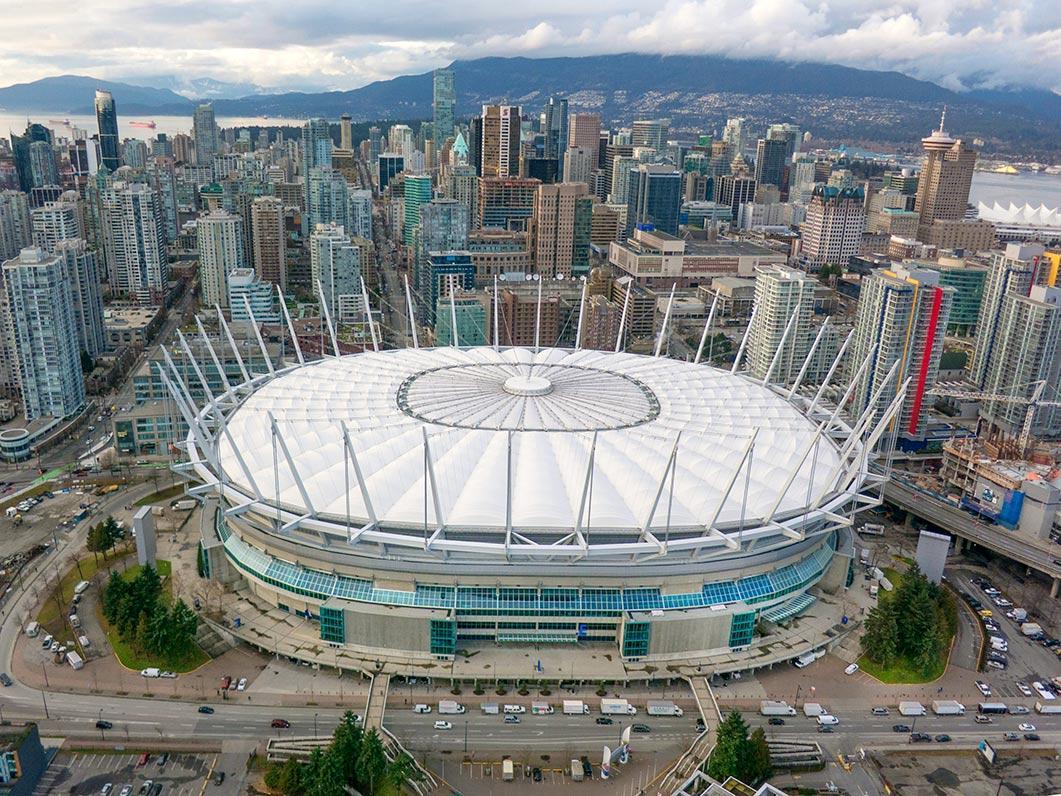 Bildresultat för BC Place, Vancouver