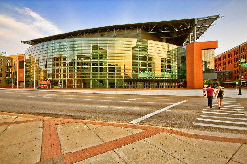 Phto of Van Andel Arena in Grand Rapids Michigan for Nursing Moms