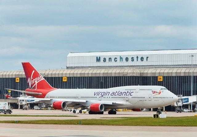 Photo of Manchester Airport in the UK