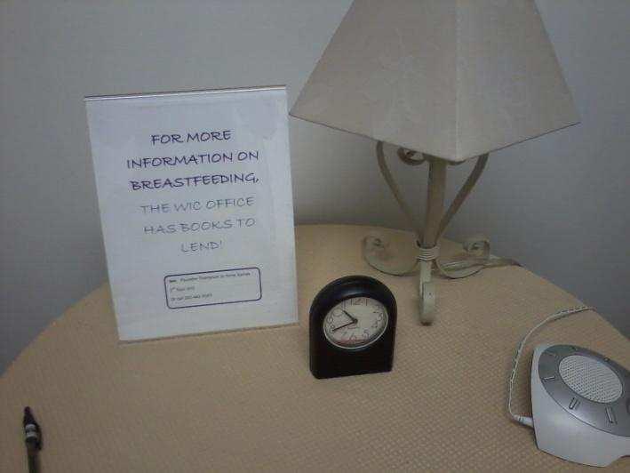 Washington D.C. Department of Health Lactation Room