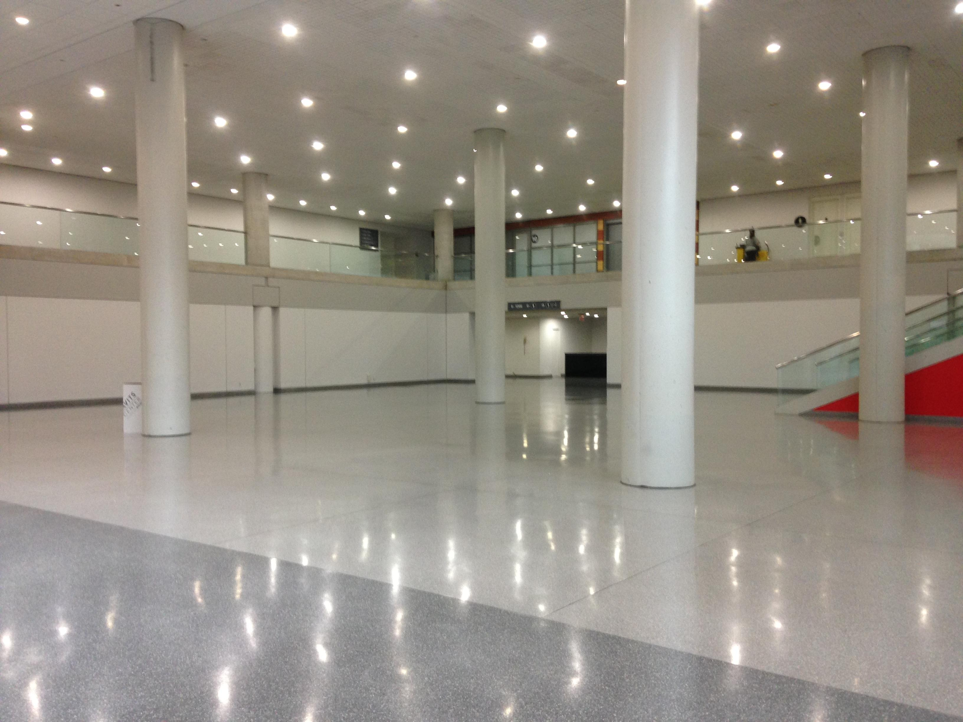 Photo of Jacob Javits Convention Center entrance to nursing room