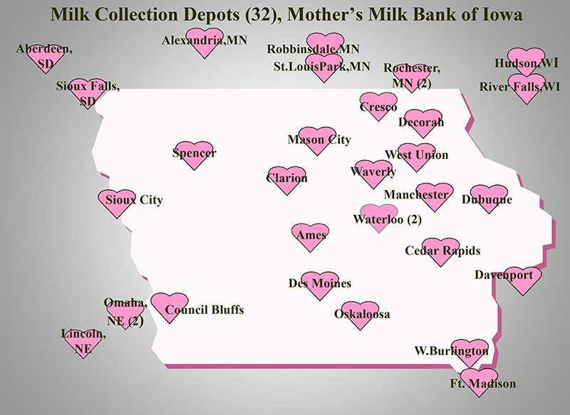 Mothers milk bank of iowa