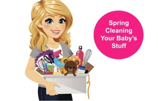 Spring Cleaning Your Baby's Stuff
