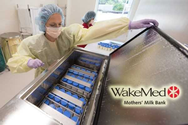 WakeMed Mothers' Milk Bank
