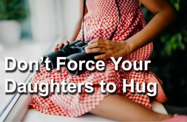 Girl Scouts: Don't Force Your Daughters to Hug