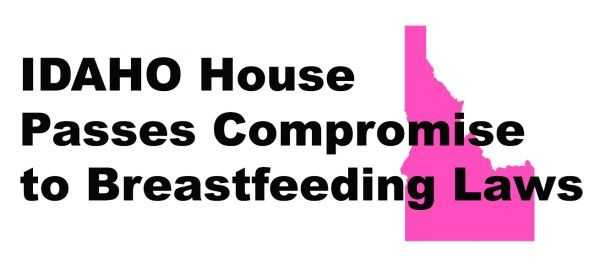 IDAHO House Passes Compromise to Breastfeeding Laws
