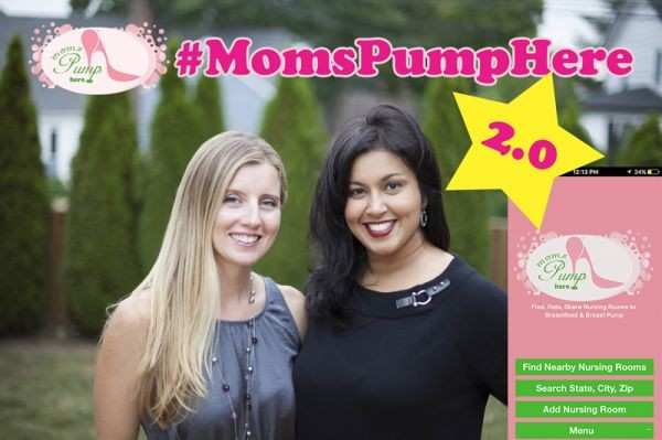 Moms Pump Here Upgrades World's Biggest  Nursing Room Locator App!