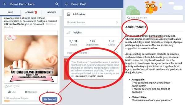 Facebook's Negative Stance on Breastfeeding Ads Needs Updating
