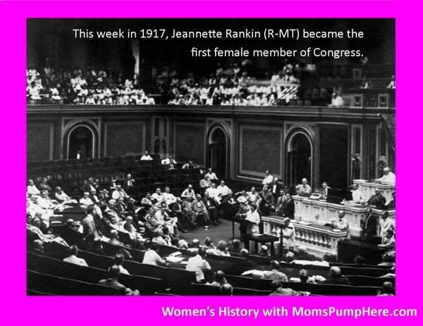Women's History - Spotlight on Jeannette Rankin