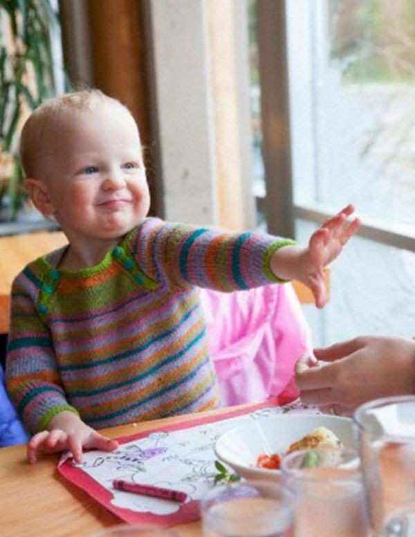 Cranky Toddler at a Restaurant -  which Mom have you been?