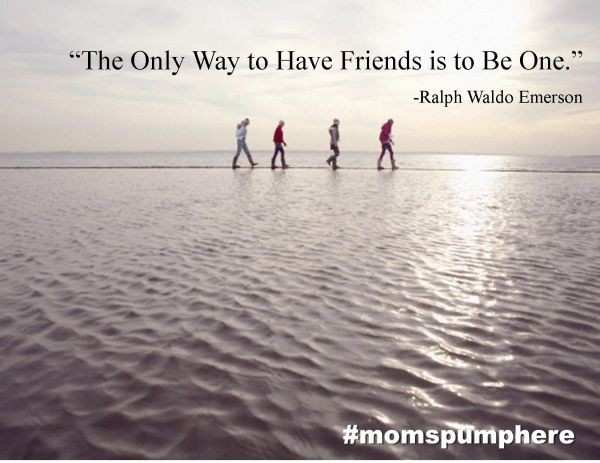 Four Friends Every Mom Should Have