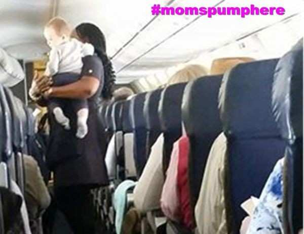 Southwest Flight Attendant Makes Tiny Tot's Day!