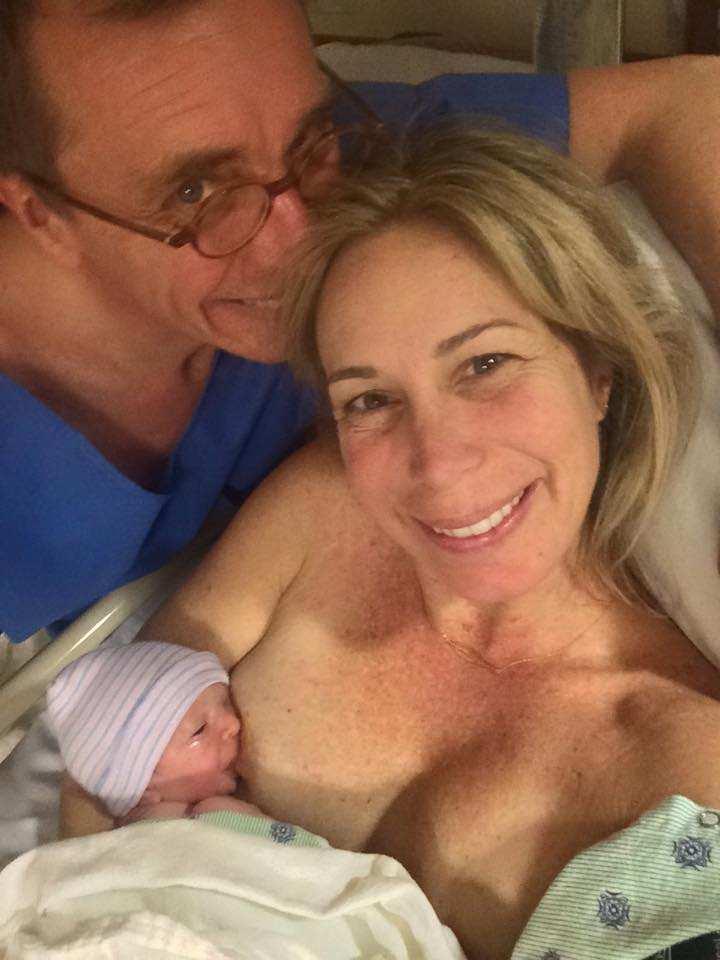 mireya mayor breastfeeding