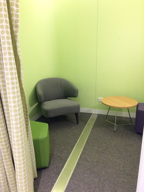 Photo of eastland shopping centre level1 parents room.