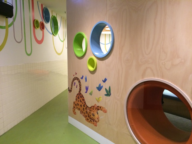 Photo of Melbourne Central shopping centre parents room.