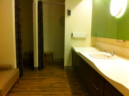 Photo of parents room in Southgate Shopping Centre Southbank Victoria.