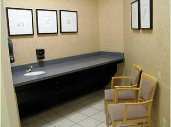 Boston Store West Towne Mall nursing mothers room