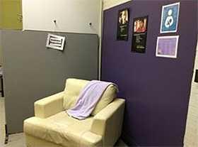 Family Partnership Center Nursing Nook