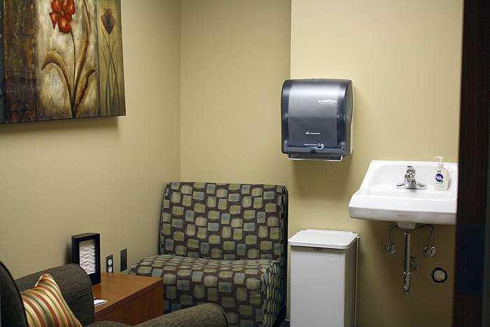 north dakota state university memorial union nursing mothers room