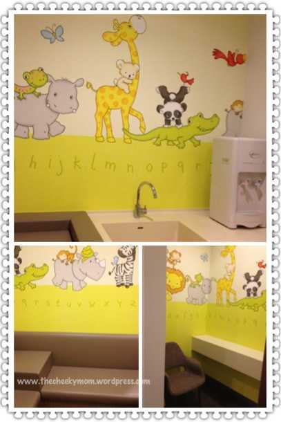 changi city point mall singapore nursing mothers room
