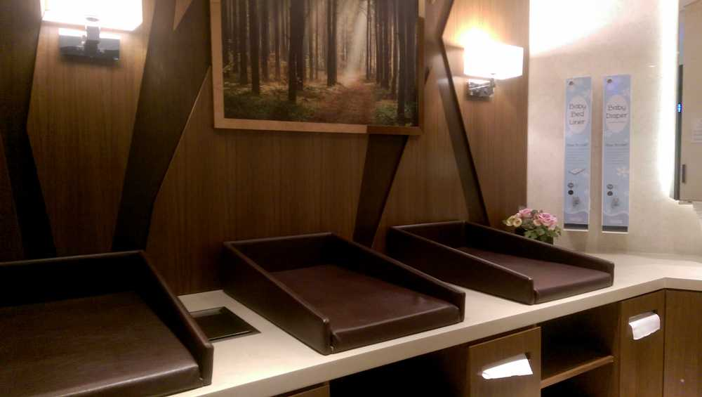 ion orchard mall singapore diaper changing tables nursing mothers room pic1