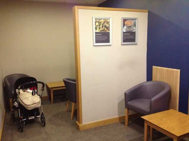 john lewis store london 5th floor nursing mothers lactation room pic1