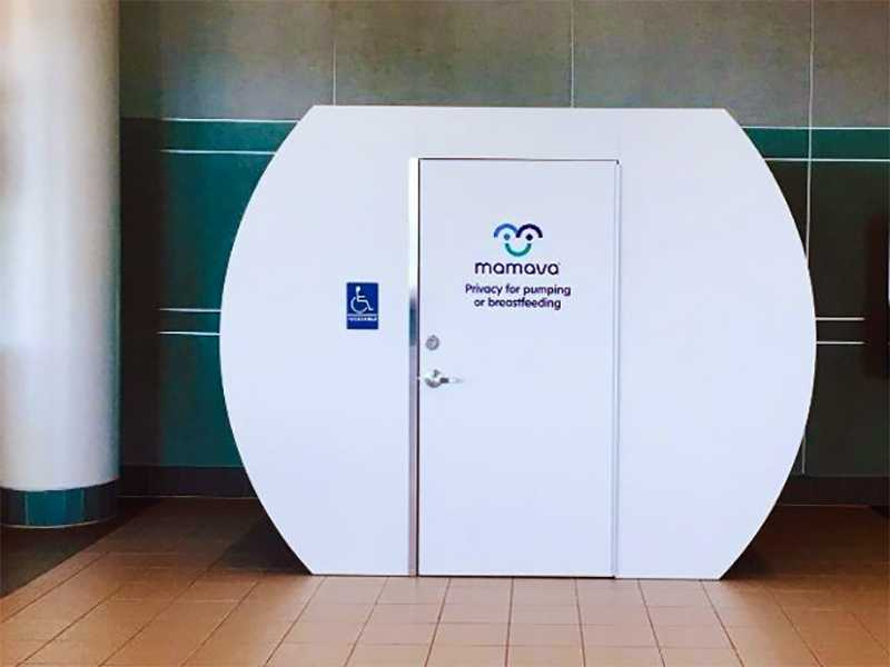 manchester boston regional airport nursing mothers room lactation pod