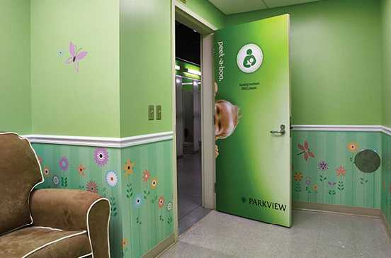 parkview field indiana nursing mothers room pic2