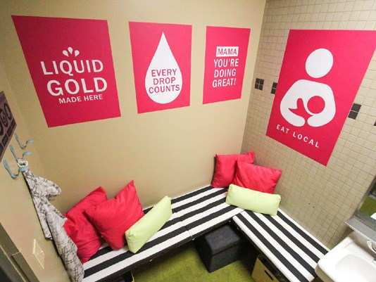round rock express dell diamond texas breastfeeding nursing mothers lactation room pic2