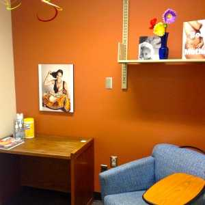 Photo of university of arizona main library lactation room