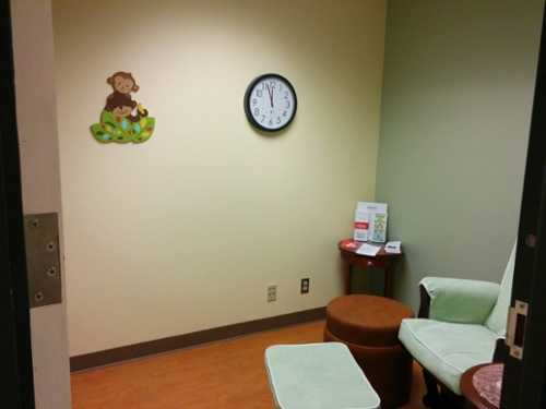 Photo of university of houston md anderson library lactation room