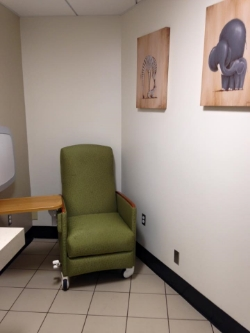 Photo of san diego airport nursing room