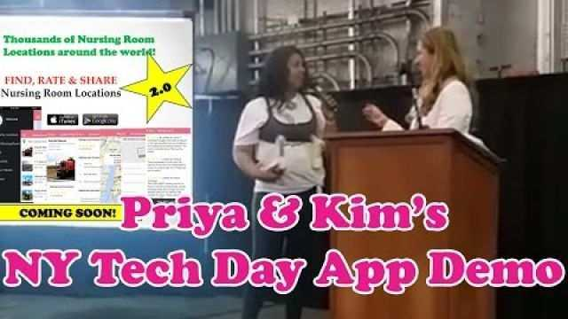 Priya & Kim's App Demo at NY Tech Day 2016