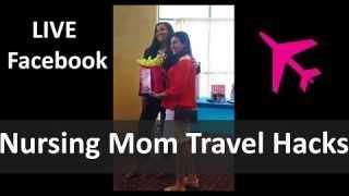 Nursing Mom Travel Hacks - Pregnant Island Health and Wellness Event